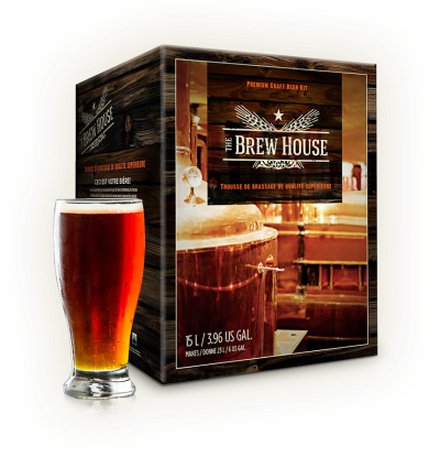 Brew House Box With Glass400