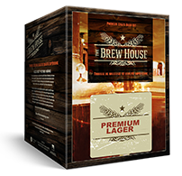 Brew House Packaging Premium Lager